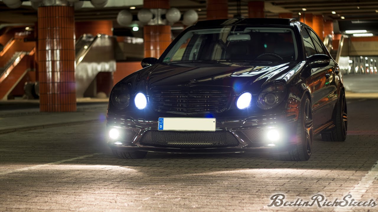 Mercedes E63 Amg W211 Loud Acceleration With Custom