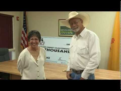 WRCF Donates $10,000 To Mesalands Community College