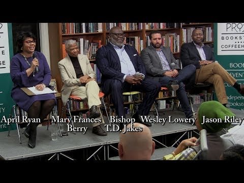 Race in America Today panel: Winter 2018 (hosted by April Ryan)