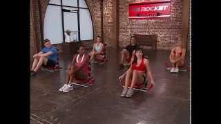 Вправи з Ab Rocket Twister - рівень ''Середній''