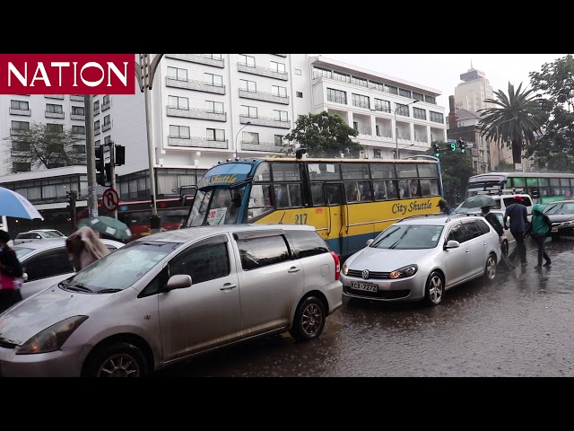 Heavy rains in Nairobi render several areas impassable with fear of looming outbreak of diseases