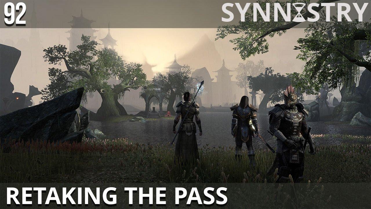 Retaking the Pass #92 - Aldmeri Dominion Quests ~ Elder Scrolls Online
