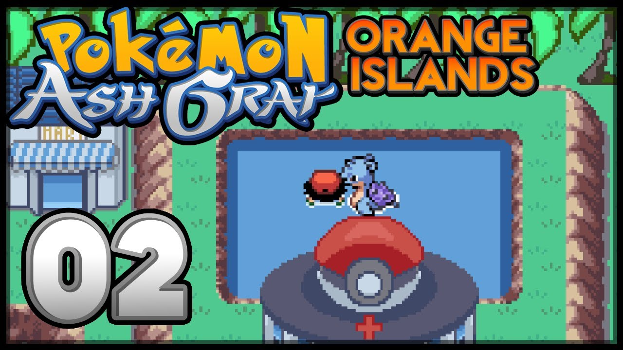 Pokemon ash gray orange islands game