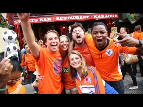 NYXI: World Cup in NYC (Spain v. Netherlands 1-5)