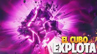 *EVENTO FINAL* EL CUBO ESTA EXPLOTANDO | FORTNITE: Battle Royale