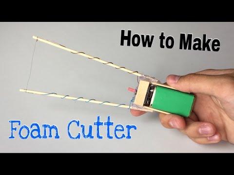 how to build a hot wire foam cutter