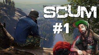SCUM #2 : SURVIVRE , STUFF COMME JAJA  !! [PARTIE 1]
