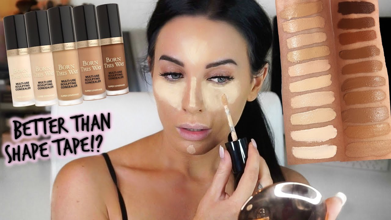 New Too Faced Born This Way Super Coverage Concealer