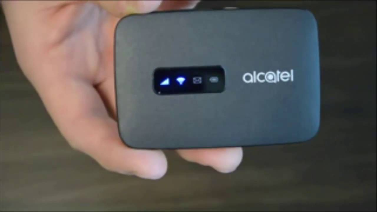 Unboxing: ALCATEL LINK ZONE 4G LTE