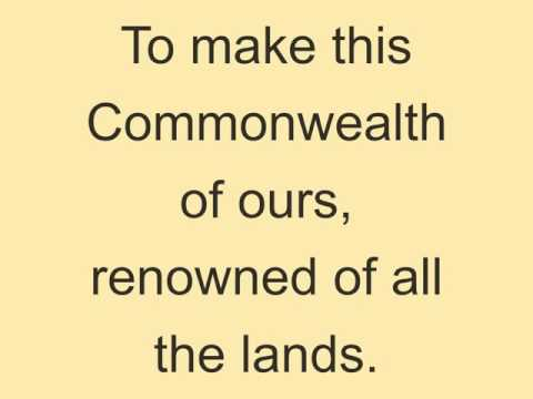 Advance Australia Fair lyrics
