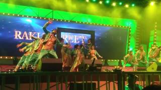 Rakul Preeth Singh Hot performance on  Santoor Mahaa Jalsa 6 at Guntur