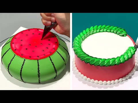 how-to-make-cake-decorating-for-special-event-|-easy-cake-decorating-ideas-|-beautiful-cake-design