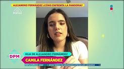 Alejandro Fernández tiene a su familia en un refugio secreto