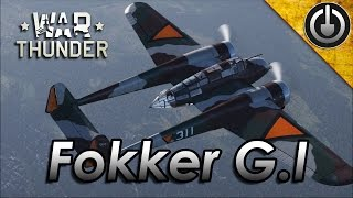 Fokker G.1 Gameplay and Digital Heritage (War Thunder )