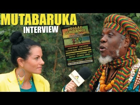 Interview with Mutabaruka @ Reggae Sundance 2013 [August 10th]