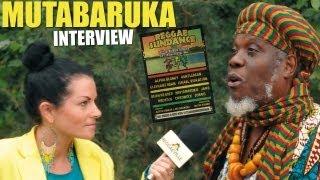 Interview with Mutabaruka @ Reggae Sundance 2013 [August 10th]