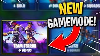 """Team Terror Gameplay"" *NEW* Fortnite LTM! (ITS CRAZY)"