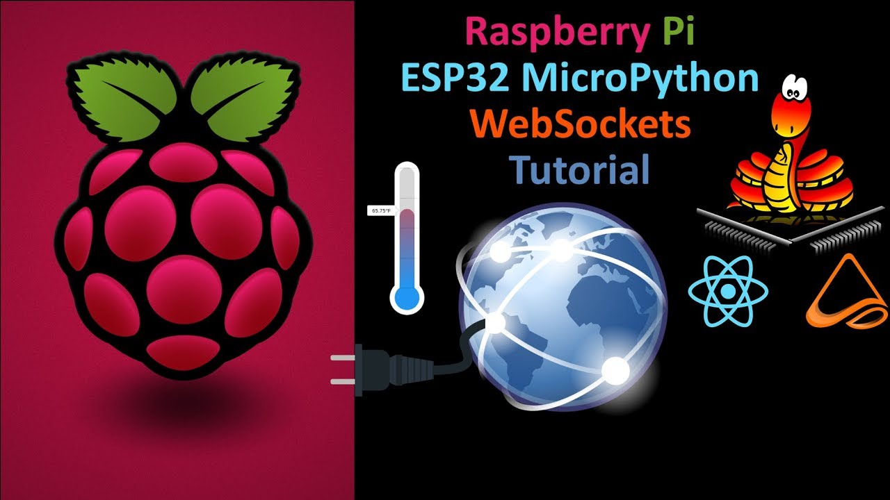 ESP32 LoBo MicroPython WebSocket Server with ReactJS & MST