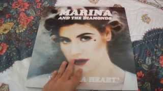 Unboxing Electra Heart (Pink Vinyl) MARINA AND THE DIAMONDS