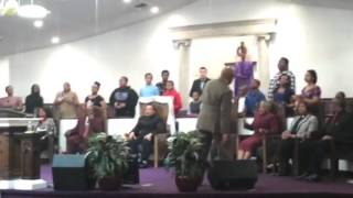 Heart of God Ministries youth choir (Jesus be a Fence)