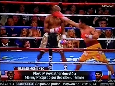 Resumen de la Pelea de Floyd Mayweather Jr vs Manny Pacquiao Fight Highlights