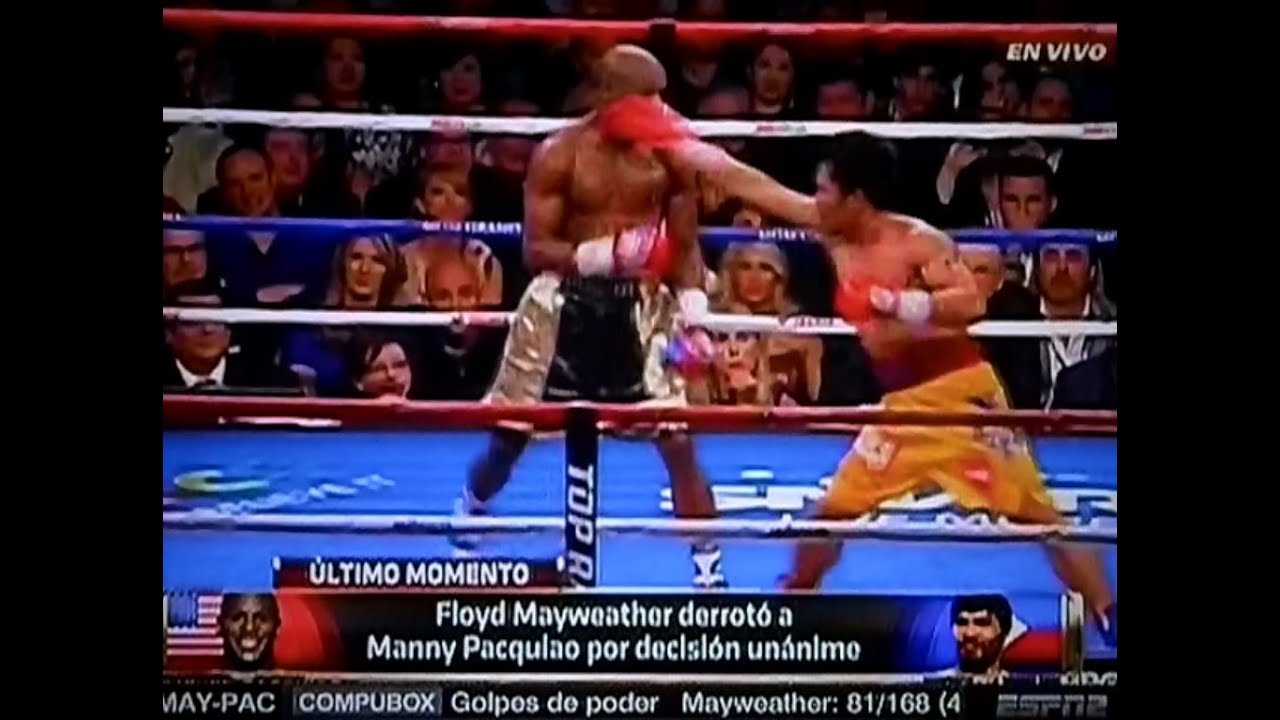 Resumen de la Pelea de Floyd Mayweather Jr vs Manny Pacquiao Fight ...