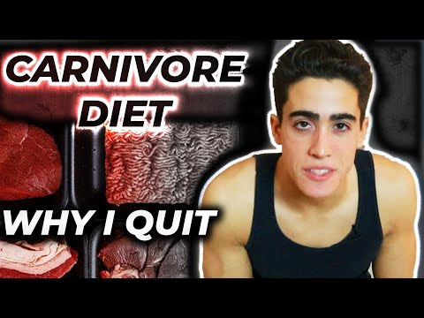 4 Reasons I QUIT THE CARNIVORE DIET after 8 YEARS!