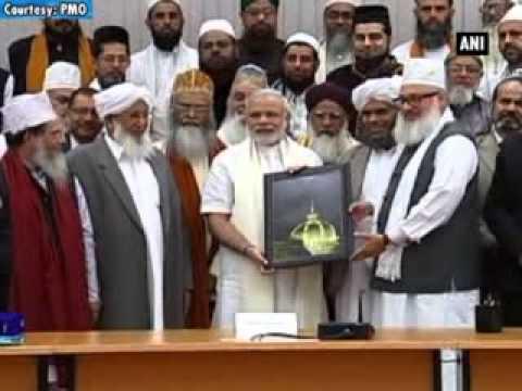 PM Modi meets delegation of Sufi scholars