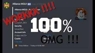 NEW MGUI !! Alliance-MGUI-Xmas-Edition [ROBLOX INDONESIA]