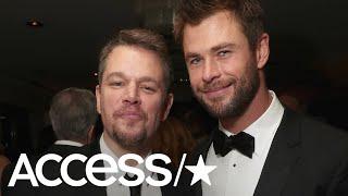 Chris Hemsworth Jokes About Pal Matt Damon's Snake Scare In Australia   Access