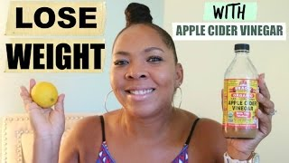 Lose Weight in One Week With Apple Cider Vinegar {DETOX TUTORIAL}