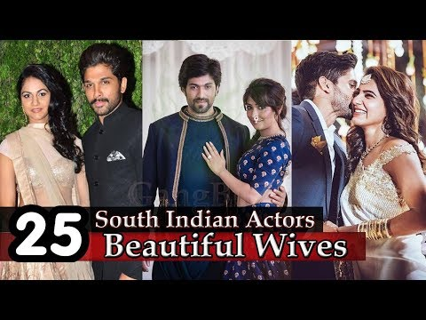 Thumbnail: South Indian Actors Wife - 25 Most Beautiful Wives Of South Indian Super Stars | Actors Wives |