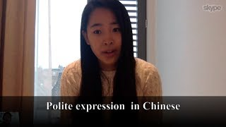 Best Chinese/Mandarin Lesson 5: Polite Expression in Chinese - Chinese for Beginner - Spoken Chinese