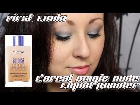 First Look: L'Oreal Magic Nude Liquid Powder