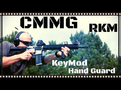 CMMG RKM KeyMod AR-15 Hand Guard Review (HD)
