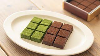 バレンタインの定番! 生チョコの作り方とラッピング(スイートチョコ&抹茶) Nama Chocolate(Sweet & Matcha)|HidaMari Cooking