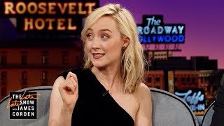 Saoirse Ronan Misspelled Ed Sheeran's Tattoo On Purpose