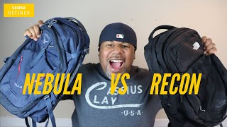North Face Recon VS Osprey Nebula Battle For The Best Urban Everyday Carry EDC Backpack