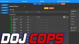 Dept. of Justice Cops #613 - Dispatcher Patrol