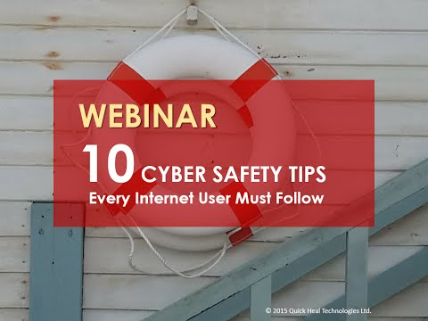 10 Cyber Safety Tips Every Internet User Must Follow