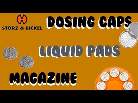 Mighty (vaporizer) dosing capsules + magazine +liquid pads