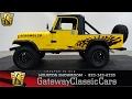 1985 Jeep Scrambler CJ8 Gateway Classic Cars #602 Houston Showroom