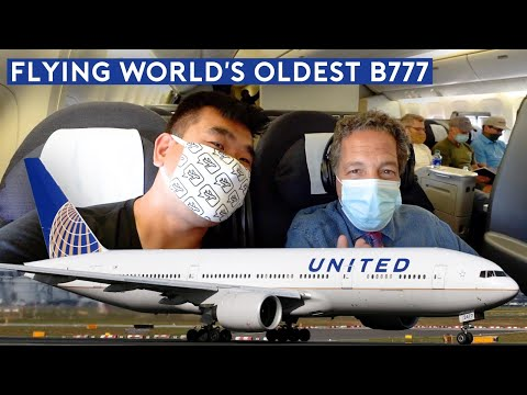 What's Air Travel Like Now? Flying The World's Oldest B777 (26 Years old)
