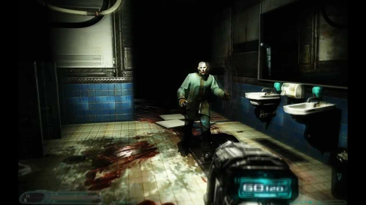Doom 3 Remake 2012 HD Gameplay