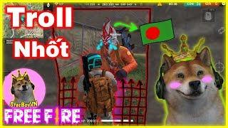 [Free Fire GNN] Troll Nhốt Chú Nước Ngoài Và Cái Kết 😂 | StarBoyVN
