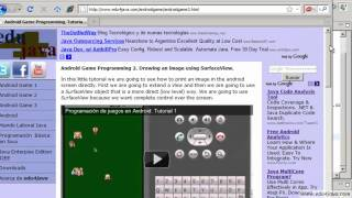 Android Game 2 Java Programming tutorial