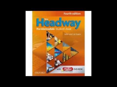 New Headway Pre Intermediate 4 Edition Student's Book CD1 Part AndCD2 Part2