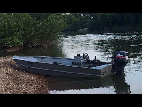 Shallow Water Aluminum Boat Build (pt1)