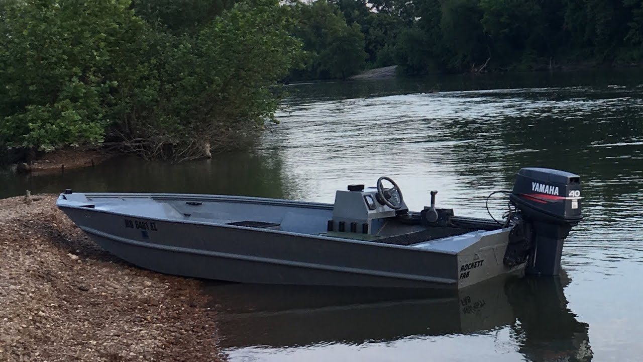 Shallow Water Boats >> Shallow Water Aluminum Boat Build Pt1