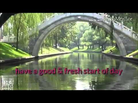 Good Morning Video With Nature Pictures Youtube